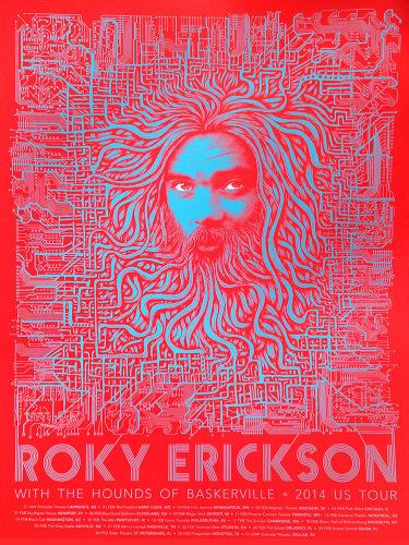 Roky Circuit Board Red