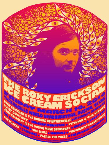 Roky Erickson Ice Cream Social 2014