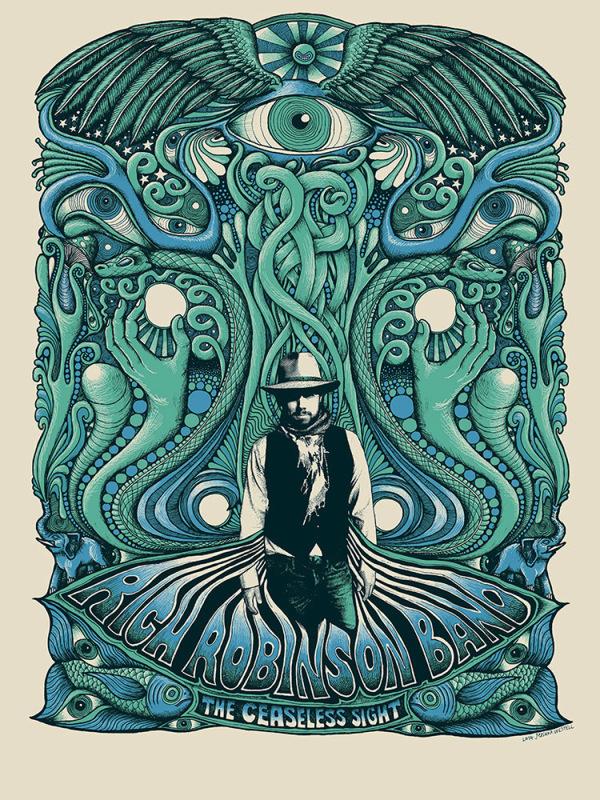 Rich Robinson Blue/Green