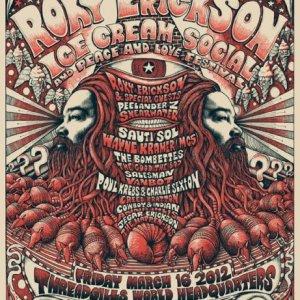 Roky Erickson Ice Cream Social 2012