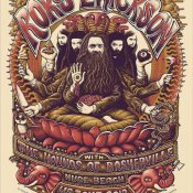 Roky Erickson US tour poster
