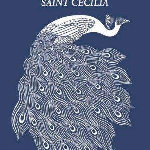 Hotel Saint Cecilia peacock shirt