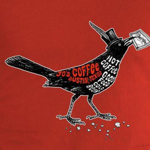Jo's Coffee Grackle T-Shirt