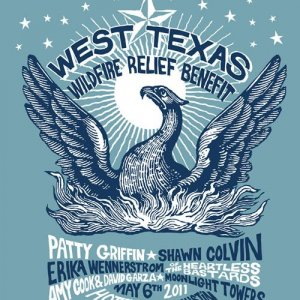 West Texas Wildfire Benefit T-Shirt
