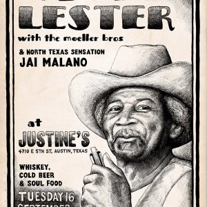 Lazy Lester at Justine's