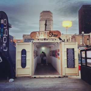 Pop Up Gallery in Downtown Austin for F1 Weekend
